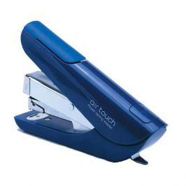Степлер Kw-Trio 0556B-BLU Mini Air touch 24/6 26/6 (20листов) синий 50скоб пластик коробка