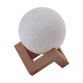 Ночник Эра NLED-490-1W-W пластик белый