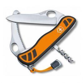 Складной нож VICTORINOX Hunter XS One Hand, 5 функций, 111мм, оранжевый / черный