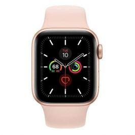 Смарт-часы APPLE Watch Series 5 44мм, золотистый / розовое золото [mwve2/a]