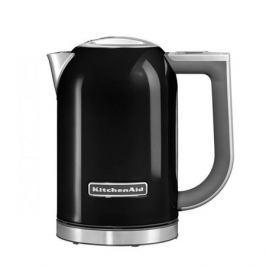 Чайник электрический KITCHENAID 5KEK1722, 2400Вт, черный матовый и серебристый