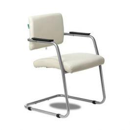 Кресло БЮРОКРАТ CH-271N-V, на полозьях, искусственная кожа, молочный [ch-271n-v/sl/or-10]