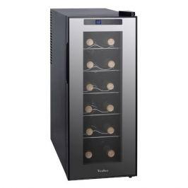Винный шкаф TESLER WCV-120, однокамерный, черный