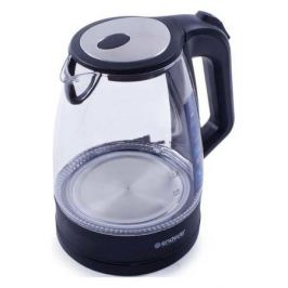Чайник электрический ENDEVER Skyline KR-326G, 2200Вт, прозрачный и черный