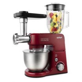 Кухонная машина KITFORT KT-1366-1, красный