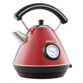 Чайник электрический KITFORT KT-687-1, 2200Вт, красный