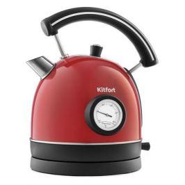 Чайник электрический KITFORT KT-688-1, 2200Вт, красный