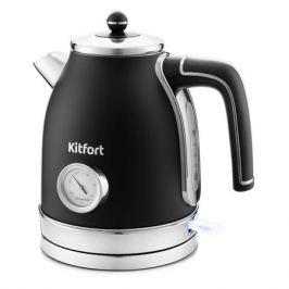 Чайник электрический KITFORT KT-6102-1, черный