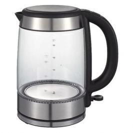 Чайник электрический MIDEA MK-8001, 2200Вт, серебристый