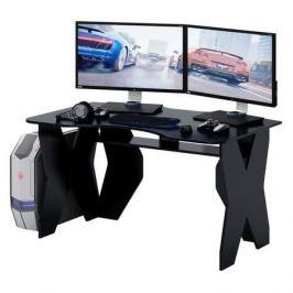 Стол игровой МАСТЕР Таунт-1, ЛДСП, черный