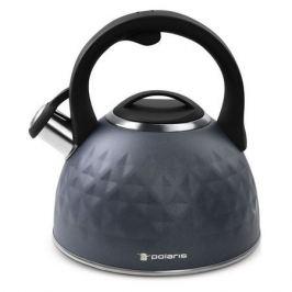 Металлический чайник POLARIS Kontur, 3л, черный [015700]
