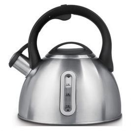 Металлический чайник POLARIS Alicante-3LN, 3л, серебристый [014798]