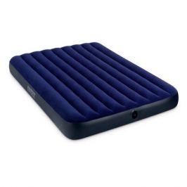 Матрас надувной Intex Classic Downy Bed дл.:2030мм ш.:1520мм в.:220мм синий (68759)