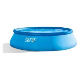 Бассейн Intex Easy Set надувной винил/полиэстер 12430л d457см синий (26166)