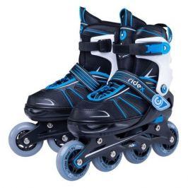 Коньки роликовые Ridex Halo ABEC 7 кол.:70мм р.:29-33 синий/черный (УТ-00016156)