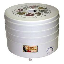 Сушилка для овощей и фруктов РОТОР Дива СШ-007-01, белый, 3 поддона