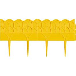 Бордюр садовый PALISAD 65070 «Прованс», 14 х 310 см, цвет жёлтый