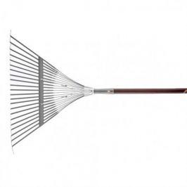 Грабли веерные PALISAD LUXE 617910, с деревянным черенком, стальные усиленные, покрытые эпоксидом