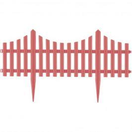 Забор декоративный PALISAD 65017 «Гибкий», 24 x 300 см, цвет коралл
