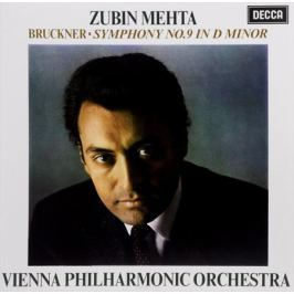 Vienna Philharmonic Orchestra,Зубин Мета Zubin Mehta. Bruckner. Symphony No. 9 In D Minor (LP)