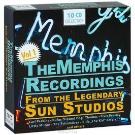 Рой Орбисон,Джонни Кэш,Карл Перкинс,Сонни Берджесс,Элвис Пресли The Memphis Recordings. From The Legendary Sun Studios. Vol. 1 (10 CD)