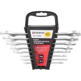 Набор THORVIK W1S8PR ключей рожковых на пластиковом держателе 6-22 мм, 8 предметов