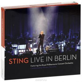 Стинг Sting. Live In Berlin (CD + DVD)