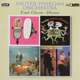 Sauter-Finegan Orchestra,Eddie Sauter,Bill Finegan Avid Jazz. Sauter-Finegan Orchestra. Four Classic Albums (2 CD)