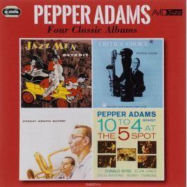 Пеппер Адамс Avid Jazz. Pepper Adams. Four Classic Albums (2 CD)