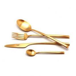 Набор столовых приборов Mezzo gold, матовые, 24 пр. 9302 Cutipol