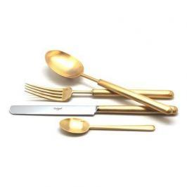 Набор столовых приборов Bali gold, матовые, 24 пр. 9312 Cutipol