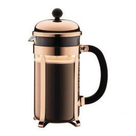 Кофейник с прессом Chambord 1 л. медь 1928-18 Bodum