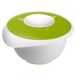 Миска длясмешивания с 2-мя крышками (2.5л), 24.5х22.5см, зеленая 3153227A Westmark