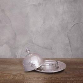 Емкость для икры, 14х14х9 см, серебряная PI 5223 S Roomers
