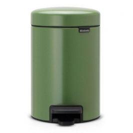 Мусорный бак с педалью newIcon (3л), 26.4х17х23.5см, зеленый мох 113024 Brabantia