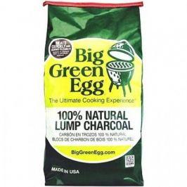 Уголь древесный органический крупнокусковой, пакет 4.5 кг CP10 Big Green Egg