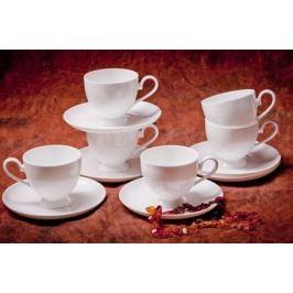 Набор чайных пар Амалия на 6 персон, 12 пр. 71241А Akky