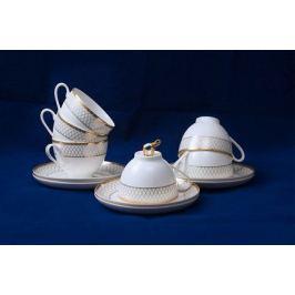 Набор чайных пар Искандер на 6 персон, 12 пр. 71248А Akky
