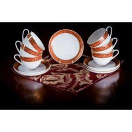 Набор чайных пар Триумф на 6 персон, 12 пр. 71236 А Akky