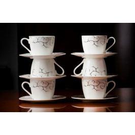 Набор чайных пар Тодес на 6 персон, 12 пр. 71237 А Akky