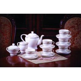 Сервиз чайный Людовик на 6 персон, 15 пр. 71528 А Akky