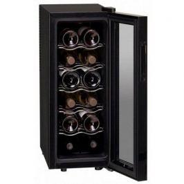 Винный шкаф (33 л), на 12 бутылок, черный DAT-12.33C Dunavox