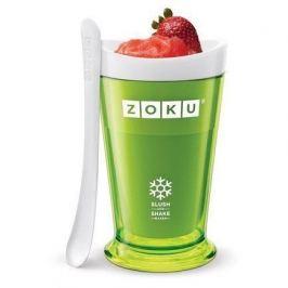 Форма для десертов Sluch & Shake (240мл), 10х16.6см, зеленая ZK113-GN Zoku