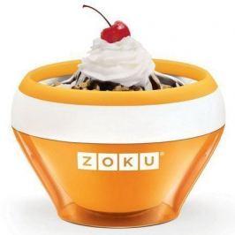Мороженица Ice Cream Maker (150 мл), 13.8х9.4 см, оранжевая ZK120-OR Zoku