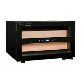 Шкаф для хранения шоколада (8-18°C), 25 л, 2 деревянных ящика CAC01 La Sommeliere