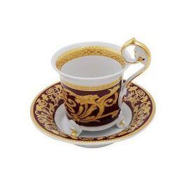 Чашка высокая Tete-a-tete на ножке (0.20 л) с блюдцем 40120435-0592 Rudolf Kampf
