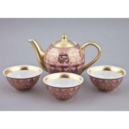 Чайный набор Тет-а-тет на 3 персоны, 4 пр. 36140714-2281 Rudolf Kampf