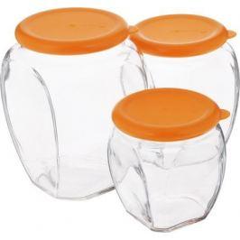 Набор контейнеров, 3 пр. IG-674 Glasslock