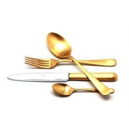 Набор столовых приборов Atlantico Gold, матовые, 72 пр. 9202-72 Cutipol