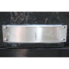 Нижняя заслонка из нержавеющей стали дляOval XL 177810 Primo